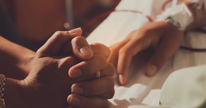 image of praying hands for a post about what is a chaplain