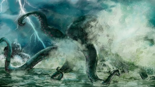 Sea monster in the Bible