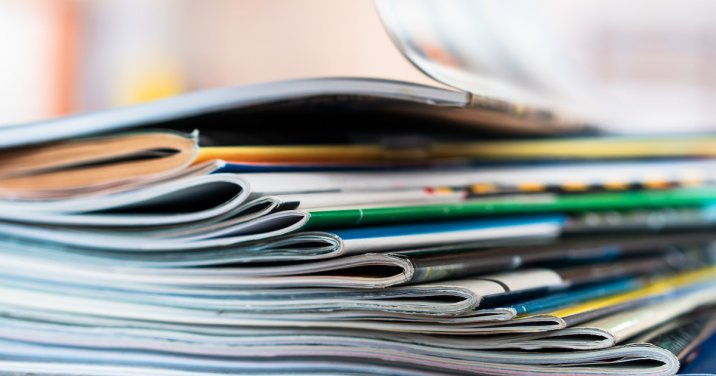image of magazines for a post about the best of christianity today